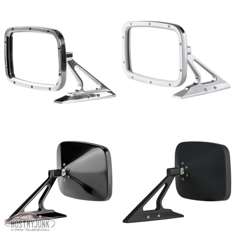 Billet Rides Rectangular Side Mirror QUAD