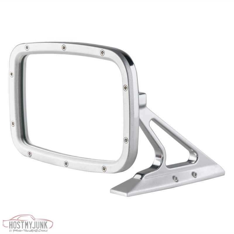 Matte Polished Rectangular Mirror Front BR012