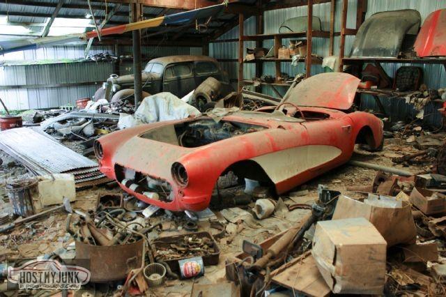 1957 corvette rare finds 01