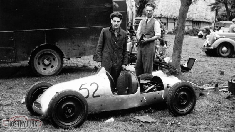 1946 prescott hillclimb john cooper charles cooper cooper mki prototype lat mi goodwood 07062020 (00